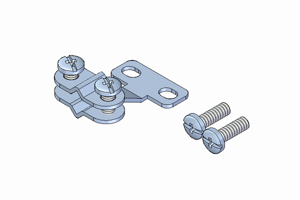 Strain-relief miniature connector