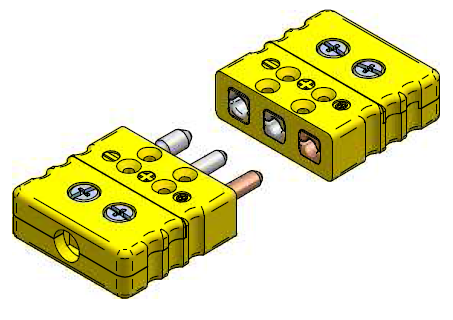 Standard-Connector 3-pin