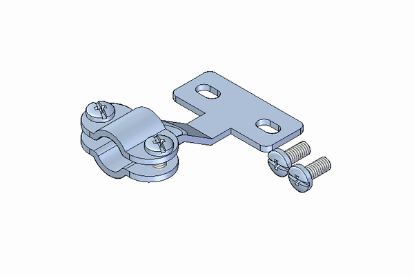 Standard Connector Wire Clamp Bracket