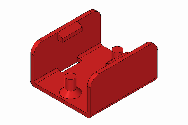 Locking plate for miniature connectors